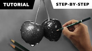 Hyperrealistic Cherries | Step-by-step Tutorial video