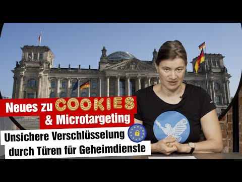 Sichere Verschlüsselung elektronischer Kommunikation und Profilbildung durch Cookies (24.02.2021)
