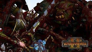 IS GRIMGOR COMPETITIVE? - Greenskins vs High Elves // Total War: Warhammer II Online Battle