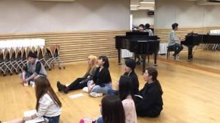 「韓国語ヴォーカル」K-POPエンタテイメント科授業 パクジョンムン先生 #音楽専門学校