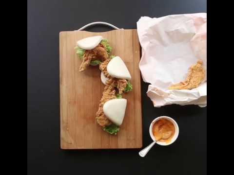 Recipe of Chicken Tenders Bomb using Sandwich Bun!