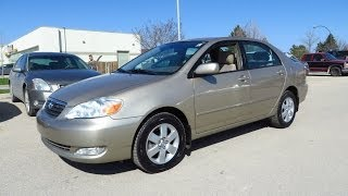 2006 Toyota Corolla LE Review, Start Up and Walkaround
