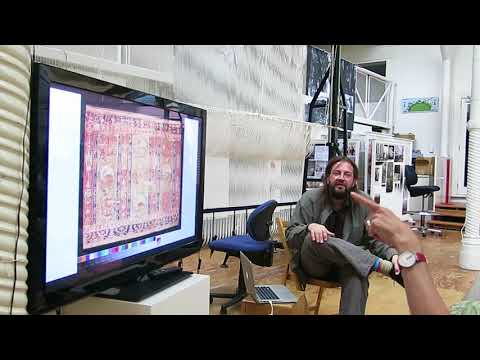 FRENCH MASTER WEAVER: Pierre Bureau Talks Tapestry