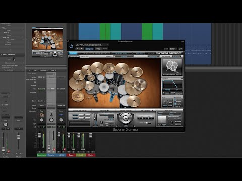 Toontrack Superior Drummer tutorial with live preset creation and mixing! -presets inside-