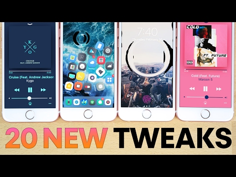 Top 20 NEW iOS 10 Jailbreak Tweaks! 10.2 & 10.1.1