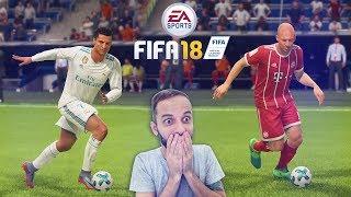 FIFA 18 DEMO - ROBBEN E CR7 COM ID PRÓPRIA!!! SENSACIONAL!!!