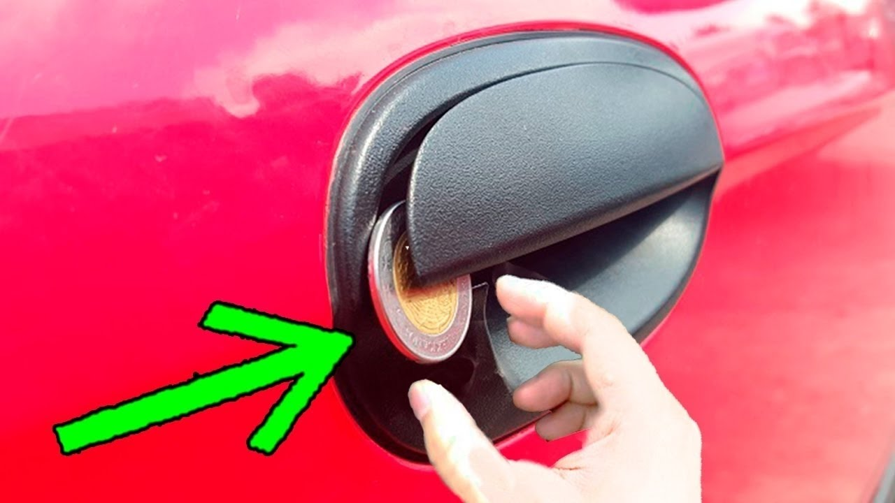 Anahtarsız Araba Kapısı Nasıl Açılır ? - 6 SÜPER YÖNTEM !!