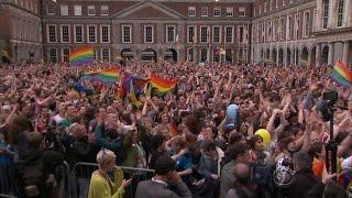 Ireland votes to legalize same-sex marriage