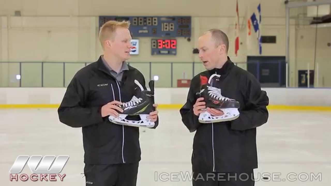 00e9cda01e2 CCM Tacks and RBZ Ice Hockey Skate Insight Video - YouTube