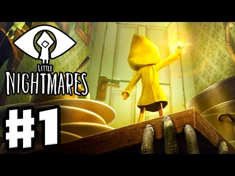 Little Nightmares - Gameplay Walkthrough Part 1 - The Prison! (PC)