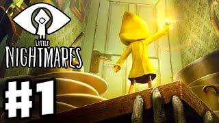 Little Nightmares - Gameplay Walkthrough Part 1 - The Prison! (PC)