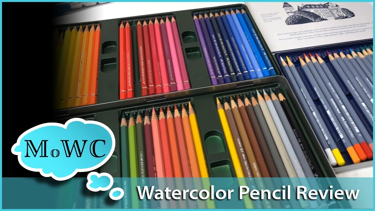 Faber Castell Watercolor Pencil Review Comparing Albrecht Durer