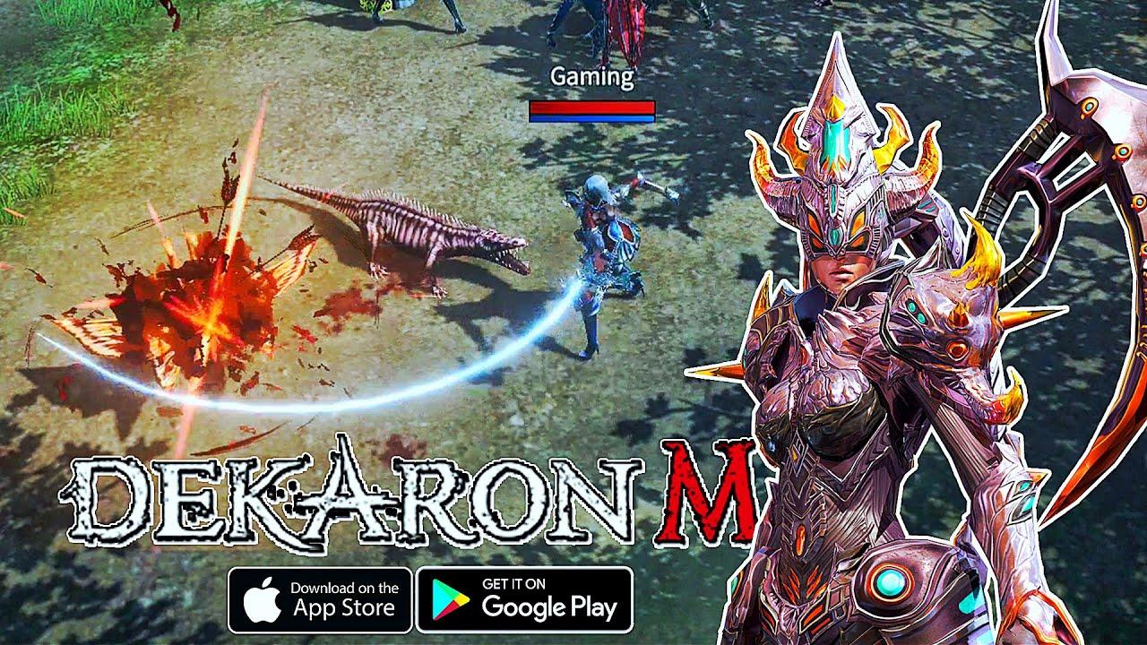Dekaron M - MMORPG Gameplay (Android/IOS)