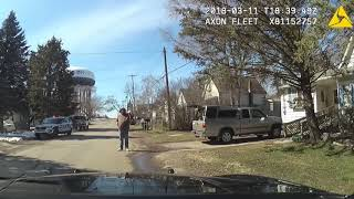 Armed Robbery Suspect Gets Shot After Being Told To Drop His Gun Multiple Times!