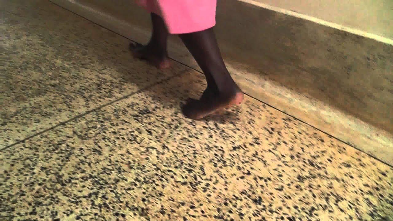 Nurses Barefoot In Jinja Hospital Africa
