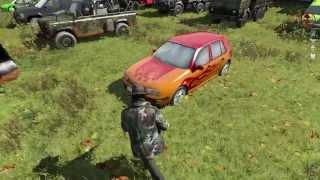 Autosammlung Carpark Dayz Origins 1.7.8