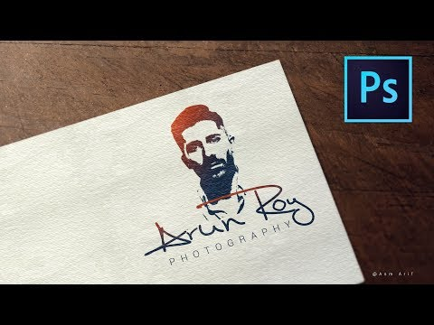 How To Design A Photography Logo In Photoshop Cc 2017