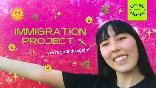 maintaining motivation + immigration project updates - Thesis Diaries Ep.04