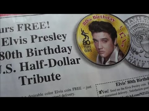 FREE Elvis Presley Half Dollar Coin - Would YOU Get This Coin Or Not?