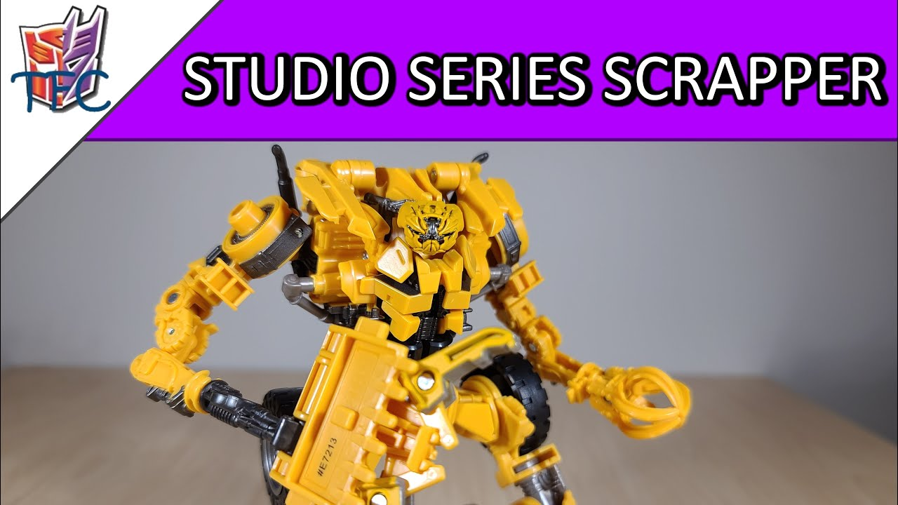 TF Collector Studio Series Scrapper Review!
