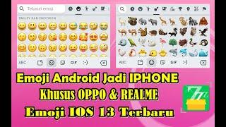 Cara Mengubah Emoji Android Jadi IOS Di Oppo & Realme