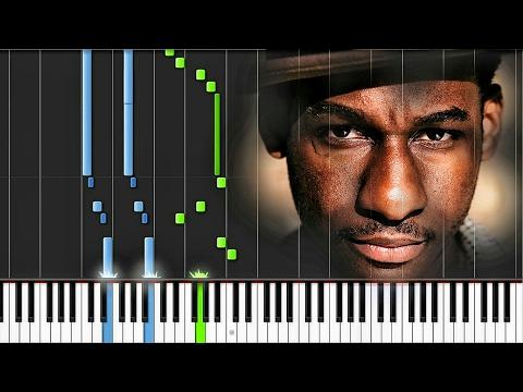 Leon Bridges- Coming Home [#reggiewatkins Synthesia Piano Tutorial]