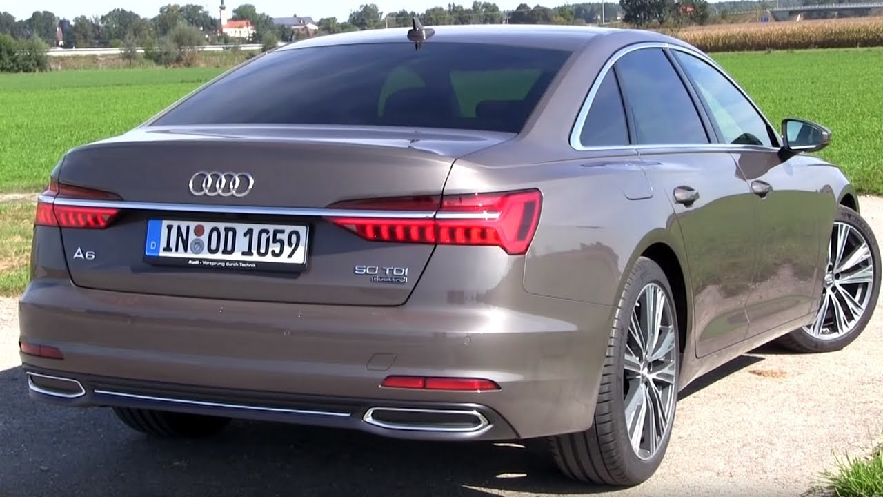 2018 audi a6 50 tdi quattro 286 hp test drive youtube. Black Bedroom Furniture Sets. Home Design Ideas