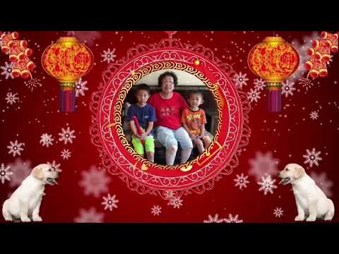 Andrew Tsao Family Happy  New Year 2018