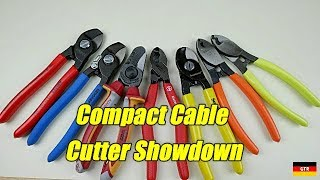 Compact Cable Cutter Showdown