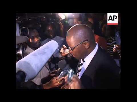 Tsvangirai's wife killed in crash, Mugabe at hospital, scene