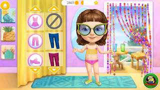 Sweet baby girl cleanup5  - Kids Dress Up Games - fun baby care kids game -Funny gameplay