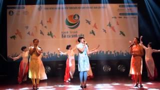 Hành trình Bài ca Sinh viên - HUFLIT - Tiết mục: Nụ cười Việt Nam