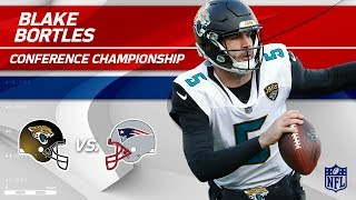 Blake Bortles AFC Championship Highlights | Jaguars vs. Patriots | NFL Player HLs
