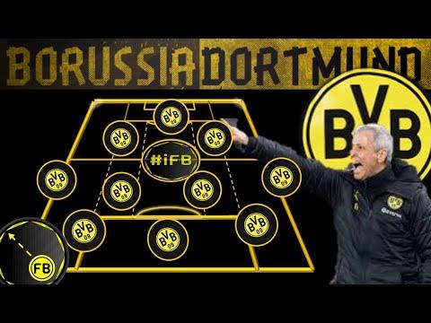 Lucien Favre 3-4-2-1 - Tactical Analysis \