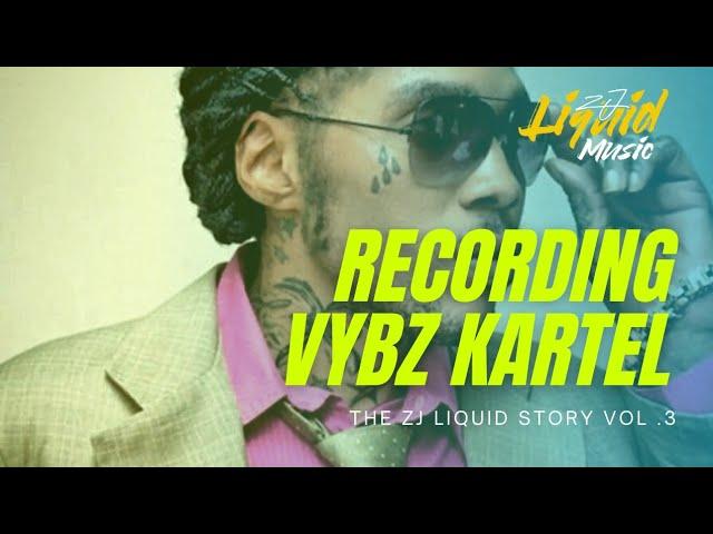 Recording VYBZ KARTEL | The Zj Liquid Story | Episode 3