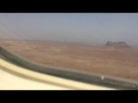 Boa Vista Cape Verde Airport Landing 19/05/2016