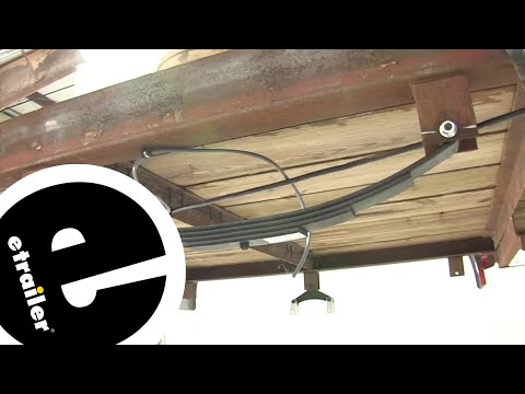 Universal Group 4-Leaf Double-Eye Spring Installation - etrailer.com