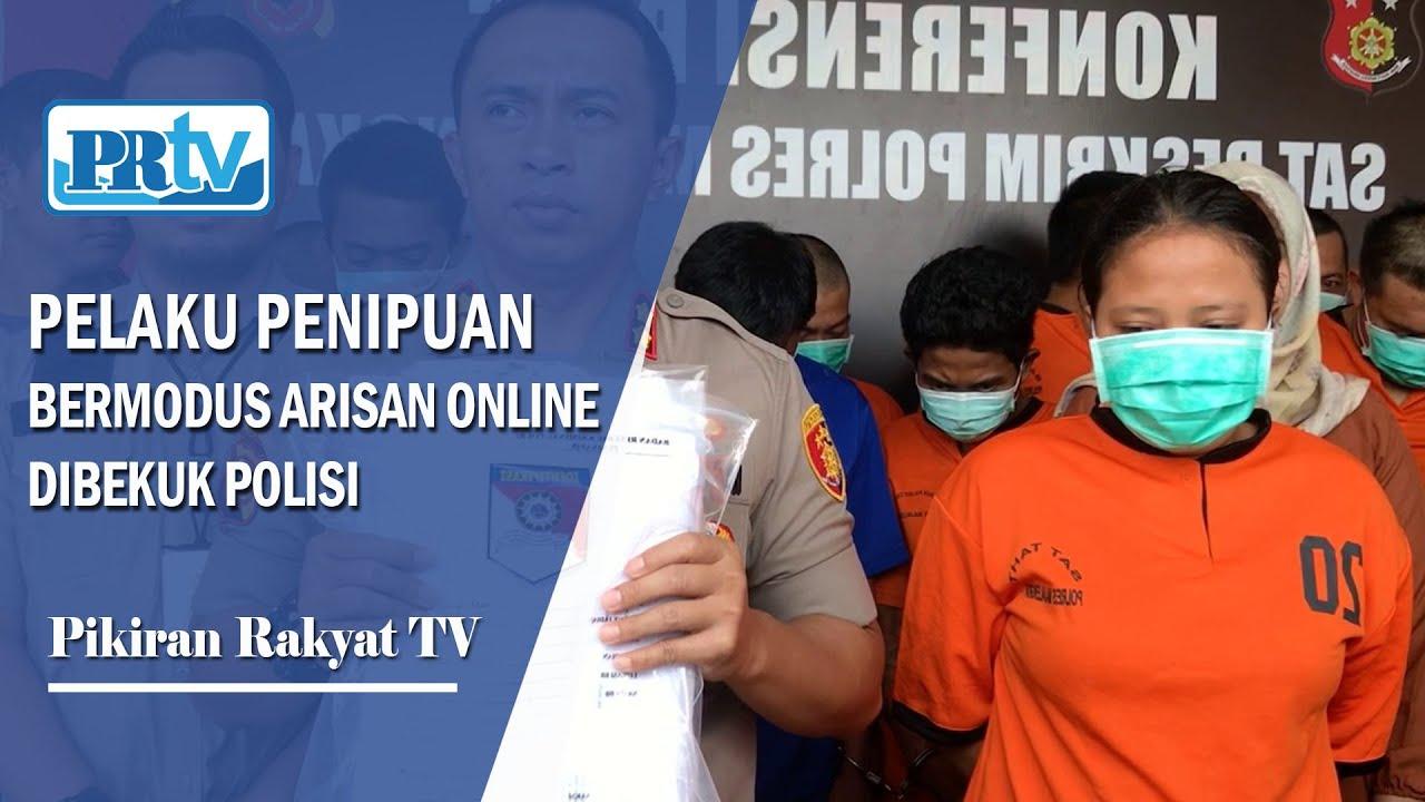 Polisi Bekuk Pelaku Penipuan Dengan Modus Arisan Online Kabar