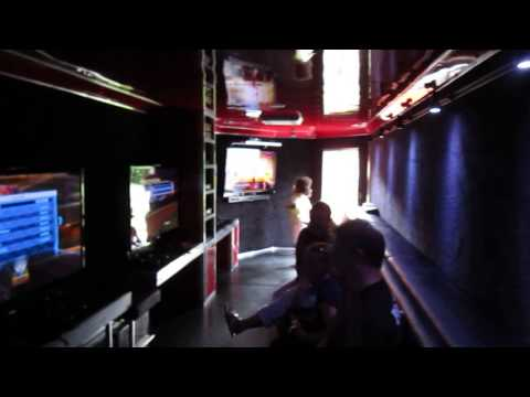 Have a Birthday Party in  Video Gamers Express Game Truck!  28 can game at once!