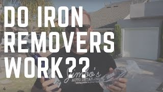 Do Iron Removers Really Work? Live Demo