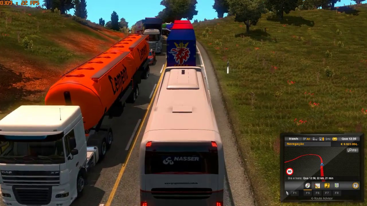 Heavy traffic mod ets 2 1. 27 download euro truck simulator.