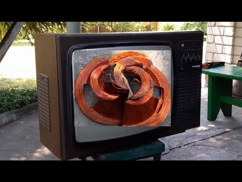 Телевизор на металл.