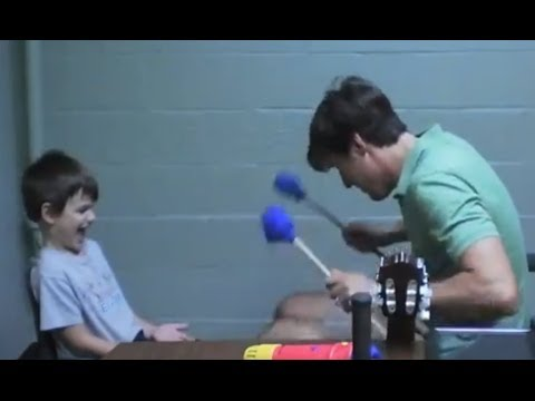 Using an Innovative Drumming Technique with a Child with Autism