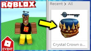 THE CRYSTAL KEY!! (Roblox Ready Player One Event Crystal Key)