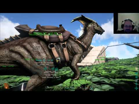 ARK: Survival Evolved - Trish's Premiere Parking; Second Story Decking with a view