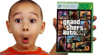 Child Makes Horrifying Discovery Inside GTA V