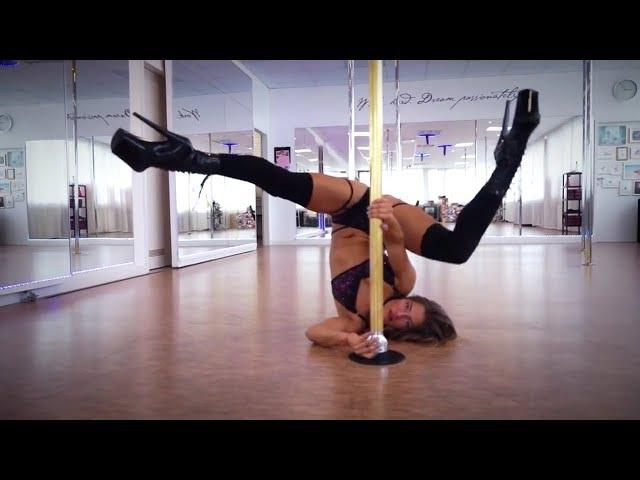Pole Dance Rosenheim - Anamaria Bozga (Johnny Good - Burn it Down)