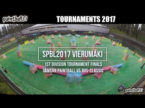 Jämsän Paintball vs BOS-Classic - Finals - SPBL2017 Vierumäki