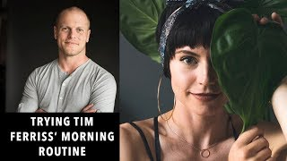 I tried Tim Ferriss' Morning Routine for 7 days | Sorelle Amore
