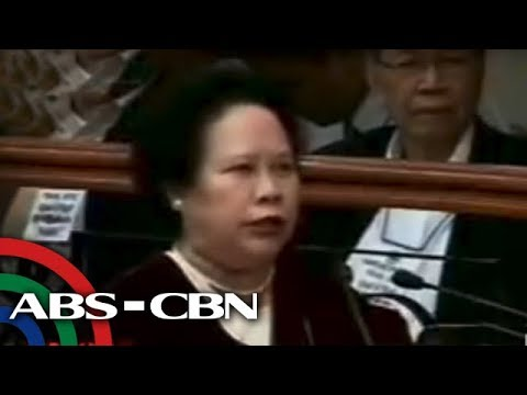 Sen. Santiago irked when Atty. Lim of prosecution argued with her